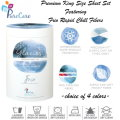 Glacies Premium King Sheet Set w/FRIO Fibers by PureCare w/Rapid Chill Fibers in 4 Colors