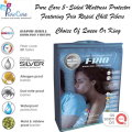 PureCare Frio 5-Sided Mattess Protector Featuring Frio Rapid Chill Fibers-Choice Of Queen Or King