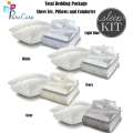 Sleep Kit by PureCare Total Bedding Package in Twin - Available in 4 Colors