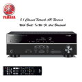 Yamaha 5.1 Channel Network A/V Receiver With Bluetooth & Built-In WiFi - Available In Black