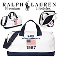Ralph Lauren Polo Sport Canvas Duffel Bag