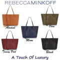 Rebecca Minkoff Classic Studded Unlined Shopper Tote With Pouch - Available In 5 Colors