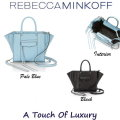 Rebecca Minkoff Side Zip M.A.B Mini Tote With Detachable Crossbody Strap - Available In 2 Colors