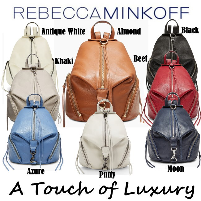 76f4d1876252 Rebecca Minkoff Medium Pebble Leather Julian Backpack - Available In ...