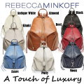 Rebecca Minkoff Medium Pebble Leather Julian Backpack - Available In 8 Colors