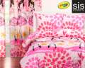 Twinkle Toes Crayola Reversible Collection 3-Piece Full Bedding Set