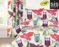 Owl Always Love You Crayola Reversible Collection 3-Piece Full Bedding Set