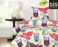 Owl Always Love You Crayola Reversible Collection 2-Piece Twin Bedding Set