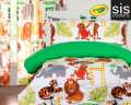 Jungle Love Crayola Reversible Collection 3-Piece Full Bedding Set