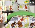 Jungle Love Crayola Reversible Collection 2-Piece Twin Bedding Set
