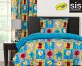 Monster Friends Crayola Reversible Collection 2-Piece Twin Bedding Set