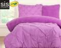 Playful Plush Vivid Violet Crayola Reversible Collection 2-Piece Twin Bedding Set