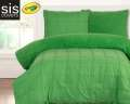 Playful Plush Jungle Green Crayola Reversible Collection 2-Piece Twin Bedding Set