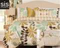 English Garden Studio Print Reversible Collection 6-Piece King Bedding Set