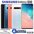 Samsung 512GB Galaxy S10 *UNLOCKED* W/Cellular Phone 2Yr Protection Plan+Accidental Damage Coverage