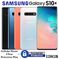 Samsung 128GB Galaxy S10+ *UNLOCKED* W/Cellular Phone 2Yr Protection Plan+Accidental Damage Coverage