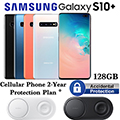 Samsung 128GB Galaxy S10+ *UNLOCKED* & 2Yr Protection Plan+Accidental Damage Bundled W/Charging Pad