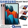 """Samsung 11"""" Galaxy Tab S7 128GB W/Wifi Bundled W/Bookcover & Tablet 2Yr Plan + Accidental Damage"""