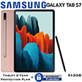 """Samsung 11"""" Galaxy Tab S7 512GB with Wifi & Tablet 2-Year Protection Plan + Accidental Damage"""