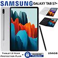 """Samsung 12.4"""" Galaxy Tab S7+ 256GB W/Wifi Bundled W/Bookcover & Tablet 2Yr Plan + Accidental Damage"""