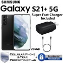 Samsung 256GB Galaxy S21+ 5G *UNLOCKED* w/ Super Fast Charger & 2-Year Protection Plan