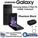 Samsung - Galaxy Z Flip3 5G 256GB *Unlocked* with Cover, Fast Charger, & 2-Yr Protection