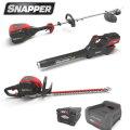 Snapper Total Yard Bundle w/String Trimmer, Leaf Blower, Hedge Trimmer, 2 Ah Battery & Rapid Charger