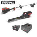 Snapper XD 82-V MAX Cordless Electric Bundle w/String Trimmer, Leaf Blower, 2.0 Battery & Charger