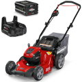 "Snapper HD 48V MAX Cordless Electric 20"" Lawn Mower Kit with (1) 5.0 Battery and (1) Rapid Charger"