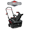 Briggs & Stratton 18-in 127-cu cm Single-stage with Auger Assistance Gas Snow Blower with Pull Start