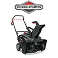 Briggs & Stratton 22-in 127-cu cm Single-stage with Auger Assistance Gas Snow Blower with Pull Start