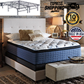 "Mt Dana 16.5"" Euro Top Innerspring Full Mattress + Foundation"