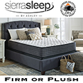 """Limited Edition 12"""" Firm or Plush Innerspring Full Mattress + Foundation"""