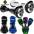 Swagtron Hoverboard for Kids & Adults; Patented Battery Protection, Carrying Bag & Skin Decal