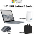 "Micorosoft Surface 13.5"" 128GB Intel Core i5 Laptop With Mouse, Case And WiFi Range Extender"