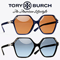 Tory Burch Oversized Inlay Sunglasses