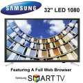 "Samsung 32"" LED 1080P 60Hz Smart HDTV - Available In Black Flat Panel"