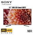 "Sony 55"" XBR Ultra HD 4K HDR LED Smart HDTV With High Dynamic Range - Available In Black Flat Panel"