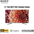 "Sony 55"" XBR Ultra HD 4K HDR LED Smart HDTV With Triluminos Display - Available In Black Flat Panel"