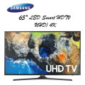 "Samsung 65"" UHD 4K LED HDR Smart HDTV -Available In Black Flat Panel"