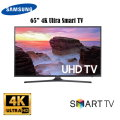 "Samsung 65"" 4K LED HDR Smart HDTV -Available In Black Flat Panel"