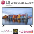 """LG 65""""  UHD 4K LED Smart HDTV With WebOS 3.0-Available In Black"""