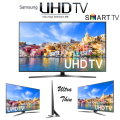 "Samsung 40"" Ultra HD 4K LED Smart HDTV -Available In Black Finish"