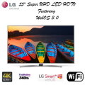 "LG 55"" Super UHD 4K Smart LED HDTV Featuring WebOS 3.0- Available In Black Flat Panel"