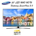 "Samsung 55"" LED UHD 4K Smart HDTV With Smart View 2.0- Available In Black Flat Panel"