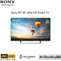 "Sony 55"" 4K Ultra HD Smart TV with High Dynamic Range"