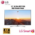 "LG - 55"" Class - LED - Nano 8 Series - 2160p - Smart - 4K UHD TV with HDR"