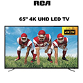 "RCA 65"" 4K UHD LED TV Featuring Programmable Channel Memory & 3 Year Warranty"
