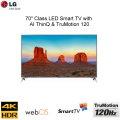"LG 70"" LED 2160p Smart 4K UHD TV with HDR"