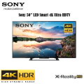 "Sony 50"" Class LED Smart 4K Ultra HDTV Featuring 4K Reality Pro & Built-in WiFi"